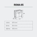 ROMA85-DIMENZIJE