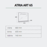 ATRIAART65-DIMENZIJE