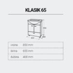 KLASIK65-DIMENZIJE