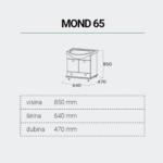 MOND65-DIMENZIJE