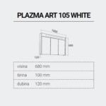 PLAZMAART-105-DIMENZIJE