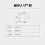ROMAART85-DIMENZIJE